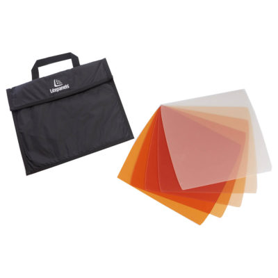 Astra 1x1 5-piece CTO Gel Set with Bag