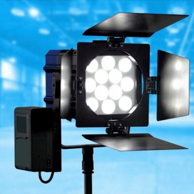 V-Mount battery adaptor plate for Nila Varsa LED