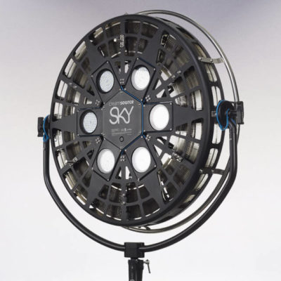 Creamsource Sky Head 1200W Colour including Yoke