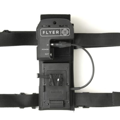 FLYER LED Integrated Belt Pack with V-LOCK Battery Plate and double leg straps