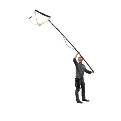 BBS Lighting Flyer LED Pole Light Kit - Gold Mount