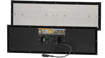 LiteGear LiteMat Plus 2L Hybrid LED Light Kit Gold Mount