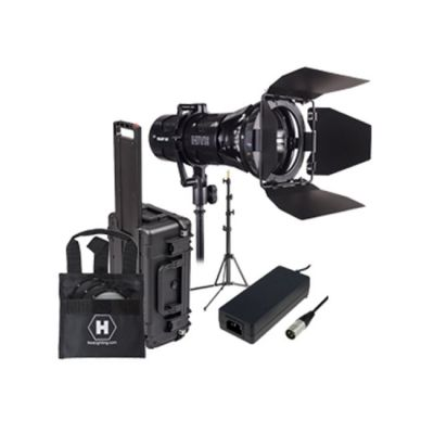 Hive Lighting Wasp 100-C LED Spot 1 Light Travel Kit with Lens Set, Stand and Case (Padded Dividers)